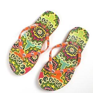 Vera Bradley Colorful Sandals 7 / 8